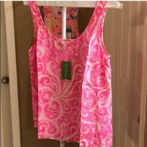 Lilly Pulitzer Cosmos top! NWT!